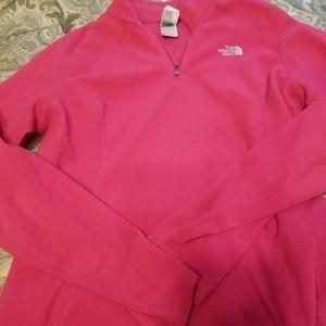 Northface quarter zip pullover